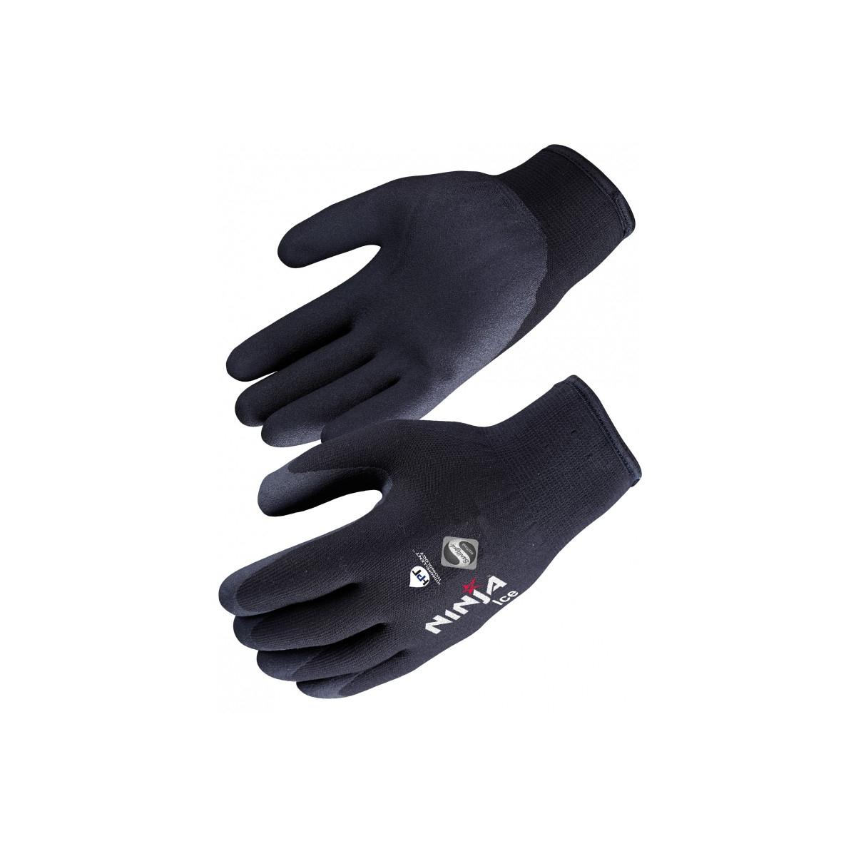 Gant Anti Froid Ninja Ice Singer Taille 9  L Noir Doublure