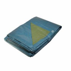 Bâche plastique 4x5 m bleue...