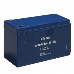 Batterie LITHIUM 12V - 8A...
