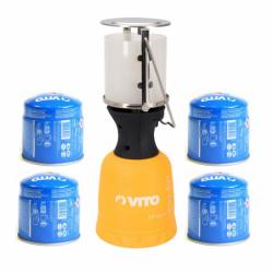 Lampe à gaz VITO + 4...