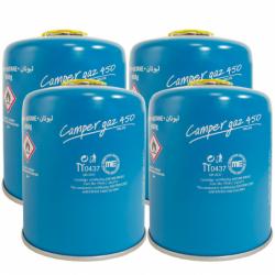 Lot de 4 Cartouches gaz...