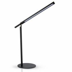 Lampe de bureau LED noire...