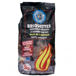 Briquette charbon barbecue...